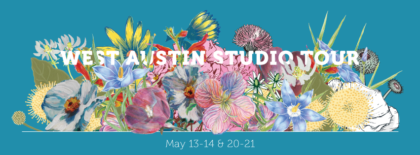 West Austin Studio Tour 2017 | May 13-14 & May 20-21