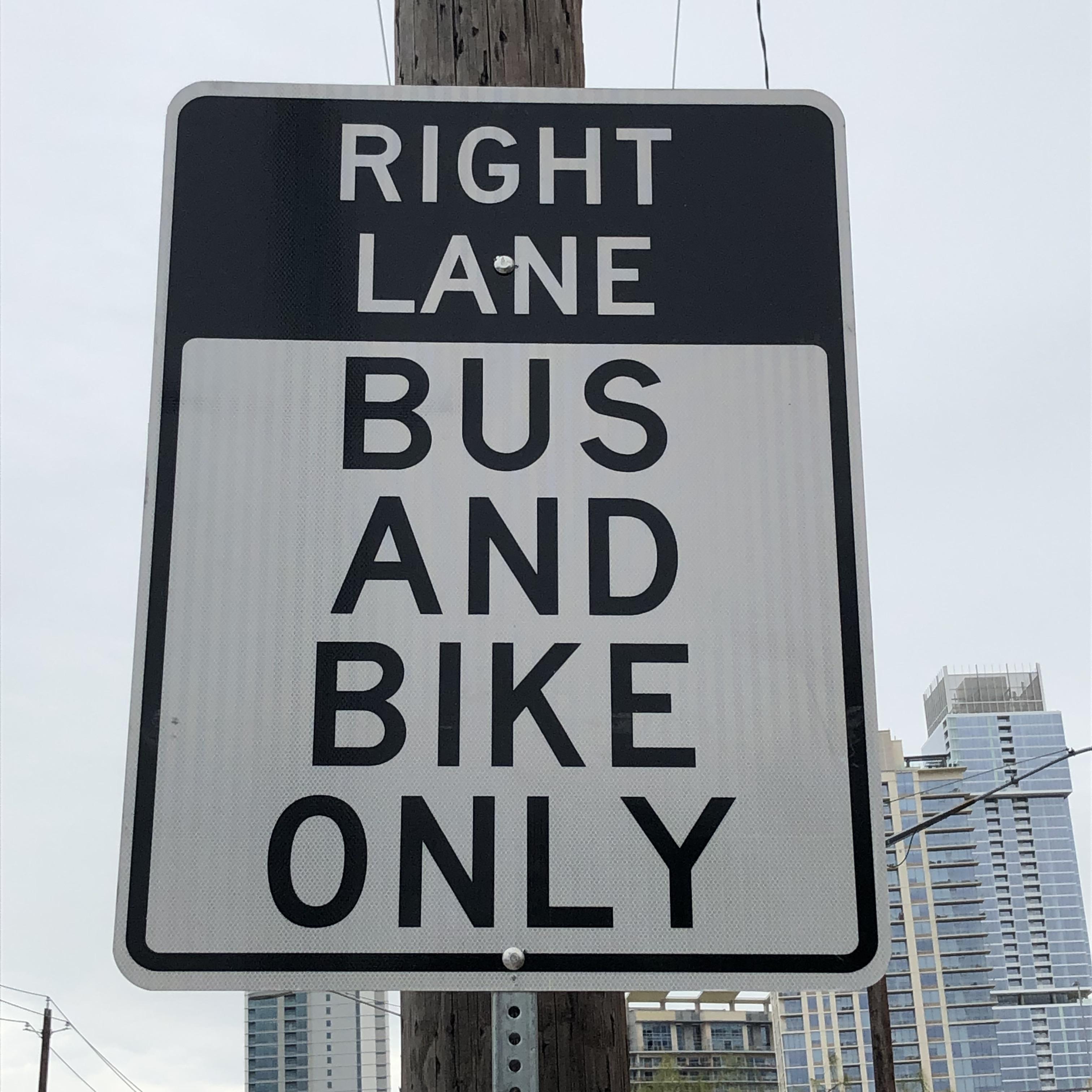 bus & bike lane 2