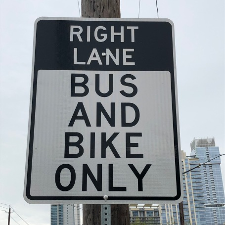 bus & bike lane 2